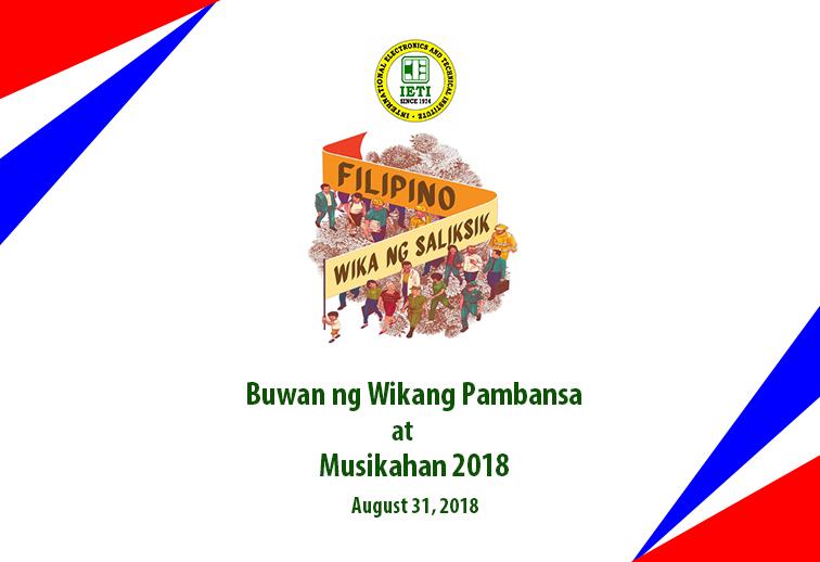 IETI Buwan ng Wika at Musikahan 2018